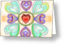 Little Hearts-2 Greeting Card