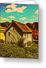 Little House - The World Around New York City Greeting Card