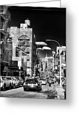 Little Italy Walking Greeting Card