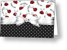 Little Ladybugs Greeting Card