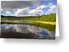 Little Lost Lake Greeting Card