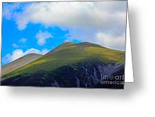 Little Man Skiddaw And Ullock Pike Greeting Card