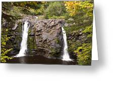 Little Manitou Falls Autumn 2 Greeting Card