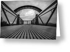 Little Mountain Sky Bridge Greeting Card