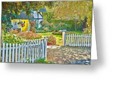 Little Newton Cottage Greeting Card