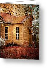 Little Old School House II Greeting Card