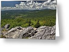 Little Pinnacle Grayson Highlands Va Greeting Card