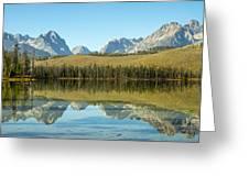 Little Redfish Lake Greeting Card