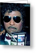 Little Richard 1989 Greeting Card