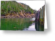 Little River In Digby Neck-ns Greeting Card