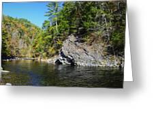 Little River Near Cades Cove Greeting Card