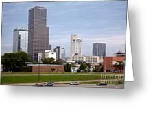 Little Rock Arizona Skyline Greeting Card