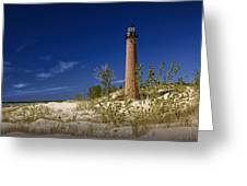 Little Sable Point Light No.0285 Greeting Card