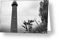 Little Sable Point Lighthouse IIi Greeting Card
