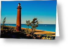 Little Sable Point Greeting Card
