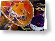 Little Sombreros Greeting Card