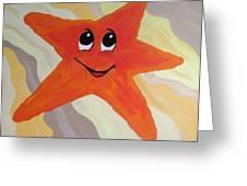 Little Starfish Greeting Card
