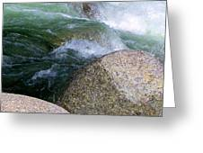 Little Susitna On The Rocks Greeting Card