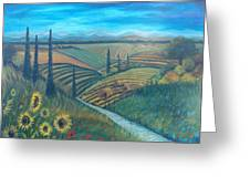 Little Tuscany Greeting Card