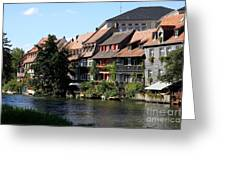 Little Venice - Bamberg - Germany Greeting Card