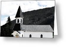 Little White Church Greeting Card