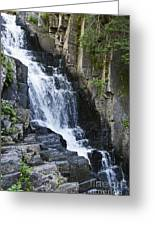 Little Wilson Falls Maine Greeting Card