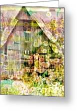Little Witch Cottage Greeting Card