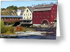 Littleton Gristmill Greeting Card