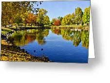 Littleton Pond 1 Greeting Card