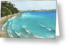 Litttle Cove Beach Noosa Heads Queensland Australia Greeting Card