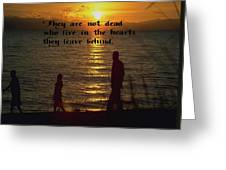 Live In The Heart Greeting Card