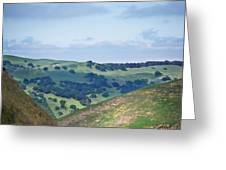 Livermore Hills Greeting Card