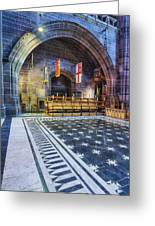 Liverpool Cathedral V2 Greeting Card