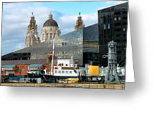 Liverpool Docklands Greeting Card
