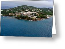 Living High In Saint Thomas Greeting Card