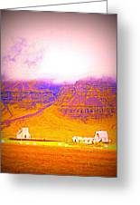 We Are Living Hillside As We Used To Do, Feeling Safe  Greeting Card