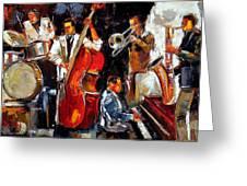 Living Jazz Greeting Card