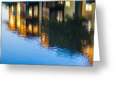 Living On The Water - 3 Greeting Card