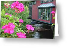 Living Over The River Greeting Card