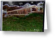 Livingston Manor Covered Bridge - Featured In Comfortable Art Group Greeting Card