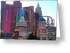Skyline Fantasies Greeting Card