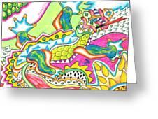 Ioli - Lizard Greeting Card