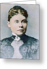 Lizzie Andrew Borden (1860-1927) Greeting Card