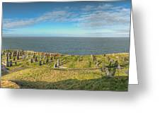 Llanbadrig Church Panorama Greeting Card