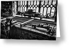 Llanberis Slate Museum - Workshop 1 Greeting Card