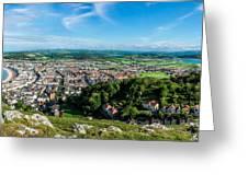 Llandudno Panorama Greeting Card