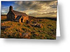 Llangelynnin Church Conwy Greeting Card