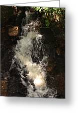 Llangollen And Maelor Country Waterfalls Greeting Card