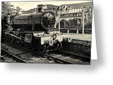 Llangollen Railway Greeting Card