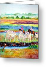 llanos Cowboys Greeting Card